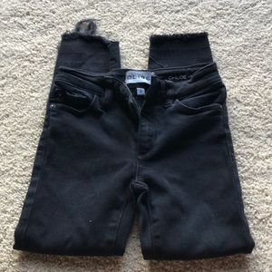 DL1961 Girls Chloe Skinny Black Jeans